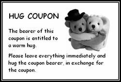 Free Hug Coupon