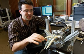 The Tickle Machine developed at UCSD